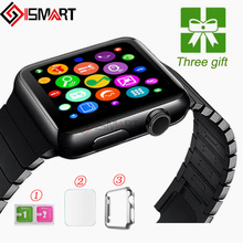 ISMART IWO 2nd 1:1 Upgrade Bluetooth heart Smart Watch for IOS Android smart phone IWO 2 MTK2502C Smartwatch pk apple watch