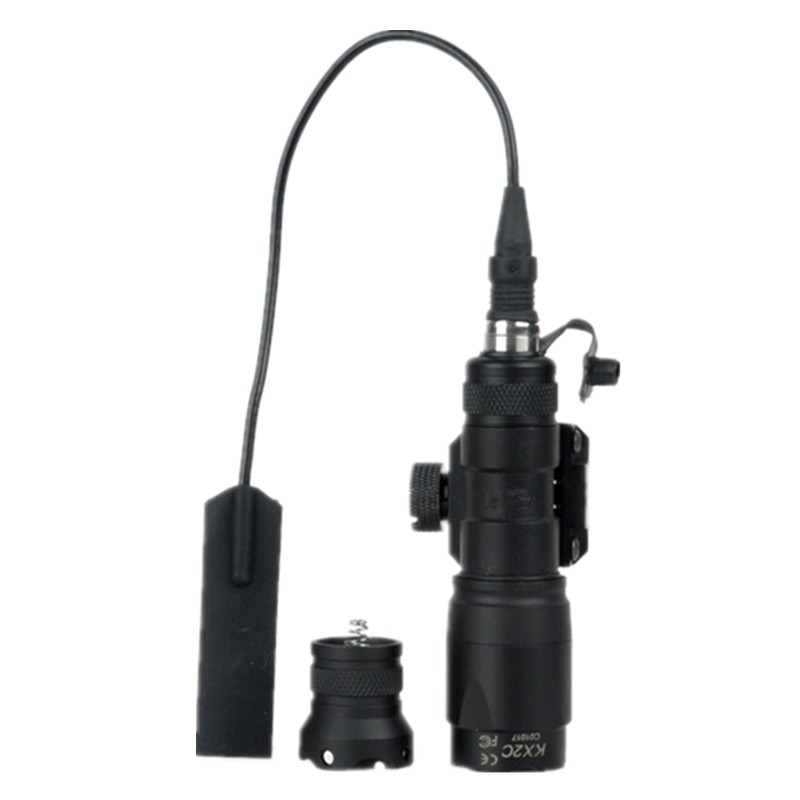 Tactical flashlight lamp SF M300 MINI SCOUT LIGHT with Remote Pressure Switch black tan<br><br>Aliexpress