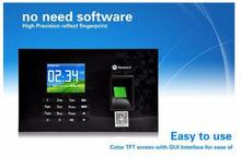 A-C051 Fingerprint/Password/RFID Card (125Khz)  Time Attendance clock TCP/IP,USB