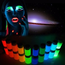 10Colors DIY Graffiti Paint Luminous Acrylic Glow In the Dark Pigment Walls For Carnival Party Supplies(China)