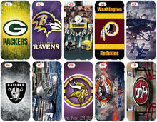 NFL Football Team Phone Cover For iphone 5 5S SE 5C 6 6S 7 Plus For Samsung Galaxy S3 S4 S5 Mini S6 S7 Edge S8 Note 3 4 5 Case