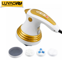 LUYAO Electric slimming Shaper massager.Roller Anti cellulite full body vibration neck massager.Loss weight fat burner machine