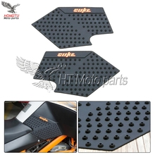 3M Rubber Motorcycle Tank Traction Pad Side Gas Decal Knee Grip Protector Tank Sticker Cover For KTM DUKE 125 200 390