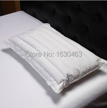 100% Cotton Microfiber and Buckwheat Pillow Fiber Pillow Neck Health Care For Home and Hotel 48*74cm 800g(China)