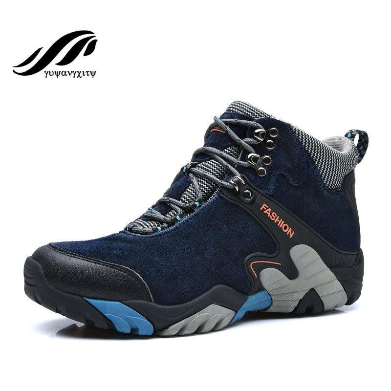 Winter mens hikinng shoes warm snow shoes 2017 ankle boots snow boots women shoes outdoor sports shoes<br><br>Aliexpress