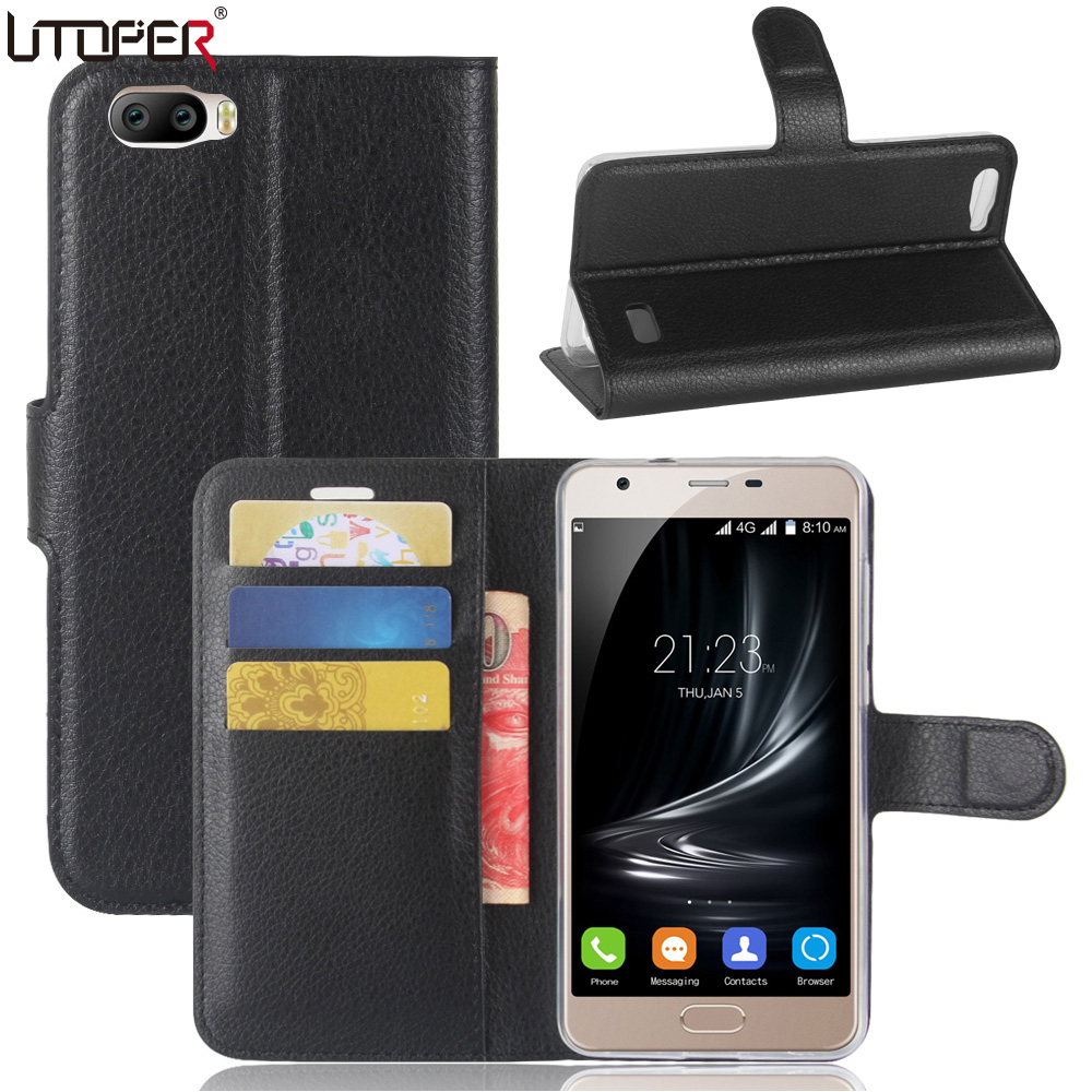 UTOPER Case Blackview A7 Case Flip Blackview A7 Cover Wallet PU Leather Magnetic Phone Case Blackview 7 Case