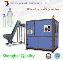 Automatic PET bottle blowing machine line,2 cavities bottle blow molding machine line with all the Auxiliary machines CE