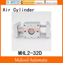 MHL2-32D double acting wide pneumatic cylinder gripper pivot gas claws parallel air SMC type cylinder