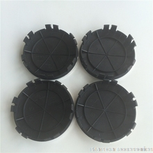 DHL 1000pcs 75mm New 6pins  Car Styling Light Dark Blue Black Wheel Centre Cap Hub Caps Cover Badge Emblem 6 Clips