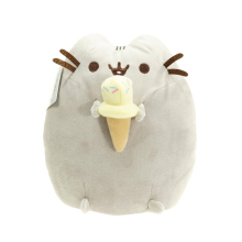 1pcs 15cm Kawaii Brinquedos New Pusheen PP Cotton Cat  Plush Doll Cookie Icecream Doughnut cake Stuffed Animals Toys