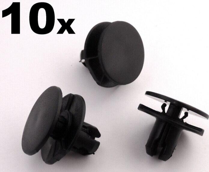10x toyota front wheel arch trim clips aile passage de roue surround clips