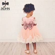 Gorgeous Flower Girl New Fashion Wedding Dress Baptism Prom Pageant Wear Children's Fancy Costume For Kids Dresses Girls Clothes