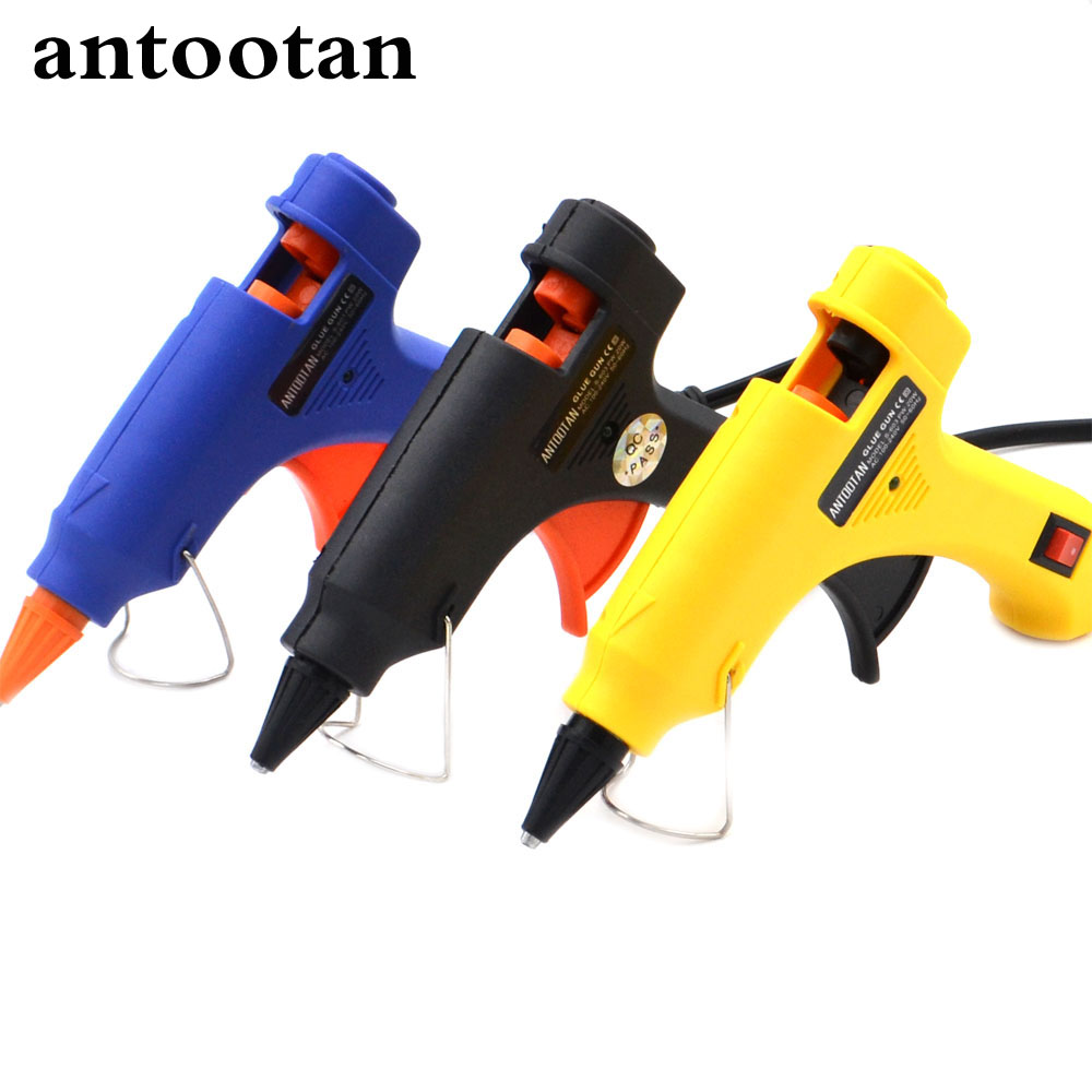 20W EU Plug Hot Melt Glue Gun  Industrial Mini Guns Thermo Electric Glue gun Heat Temperature Tool for 7mm Glue Stick