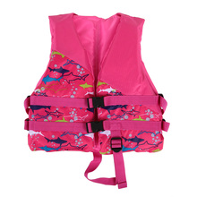 Children Kids Swimming Life Jackets Lifesaving Buoyancy Aid Flotation Boating Surfing Vest Clothing Safety Survival Suit