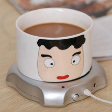 Hot USB Insulation Coaster Heater Heat Insulation electric multifunction Milk Coffee Cup Mug Mat Pad New 1PC