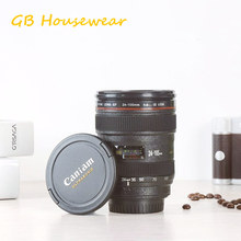 2017 SLR Camera EF24-105mm Coffee Lens Mug cup 1:1 scale caniam coffee cup with CANON creative gift(China)
