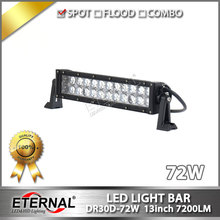 6pcs-72W led light bar off road ATV UTV 4x4 truck trailer tractor vehicles led work driving headlight fog lamp headlamp