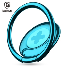 Original  Baseus Symbol Ring Bracket Finger Grip Phone Desktop Holder Safe and Firm Built-in Iron Sheet for Most Mobile Phones