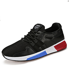 2017 Ultra-Light Men Running Shoes Autumn Breathable Male Athletic Shoes Trainer Sport outdoor Shoes sneakers zapatos de hombre(China)