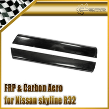 Car-styling FRP Fiber Glass Rocket B Style Side Skirt Fiberglass R Bunny Door Exterior Accessories For Nissan R32 GTR Wide Body