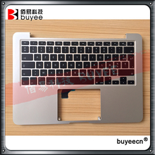 "Original A1502 Palm Rest For MacBook Retina Pro 13.3"" A1502 Top Case Palmrest Topcase French FR Keyboard Backlight 2015 Year"