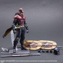 Batman Arkham Knight Play Arts Kai Robin Figure Square Enix Asylum Doll PVC Action Figure Resin Collection Model Toy Gifts