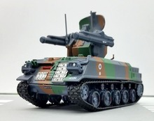 Out of print AMER 1:72 French AMX-30R air defense tank Tracked armored vehicle model Static collection model Only one(China)