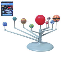 1Pcs Hot Educational Astronomy Science Toys Solar System Celestial Bodies Planets Planetarium Model Kit DIY Kids Gift Selling