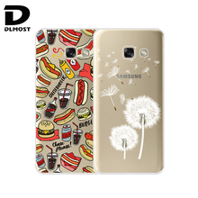 TPU Soft Case For Samsung Galaxy A5 2017 A520 Transparent Ultra-Thin Silicone TPU Case Cover For Samsung Galaxy A5(2017) New