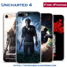 Uncharted 4 A Thief's End PS4 game coque new Phone Case Cover Shell Bag For Apple iPhone 7PLUS 7 6SPLUS 6S 6PLUS 6 5 5S SE 4 4S