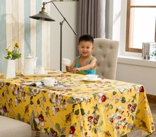 Ramie Cotton Fabric Tablecloth Square Linen Table Cloth Dining Room Table Cover Home Decoration Customize Curtain and Tablecloth
