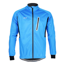 Windproof Men Fleece MTB Bicycle Bike Cycling Jerseys Jackets Top Short Sleeve Breathable Zipper Jersey Ropa Ciclismo - Locel Outdoor Store store