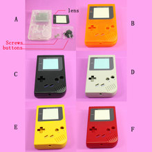 (6 colors) New Full Housing Shell Case for Nintendo Gameboy Classic for GB DMG GBO , High quality.