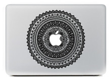 "Black Retro Totem PatternDecal Laptop Sticker for MacBook Air/Pro/Retina 11"" 12"" 13"" 15 Computer Mac Cool cover skin notebook"