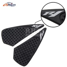 new arrival Motorcycle Accessories Carbon Fiber Tank Pad tank Protector Sticker for YAMAHA YZF R1 04 05 06 2004 2005 2006(China)