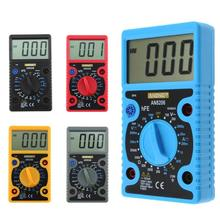 Brand New AN8206 Overload protection Mini Digital Multimeter LCD Large Screen Display Wave Output Ampere Voltage Ohm Tester(China)