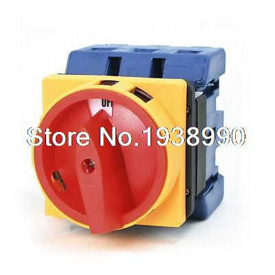 660V 100A AC 2 Position Rotary Cam 6 Terminals Universal Combination Switch<br>
