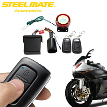Steelmate 886E 1 Way Motorcycle Universal Security Alarm Auto Scooter Safty System Remote Control Motorbike Engine Immoblized(China)