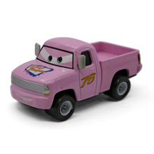 "Pink No.76 ""Vinyl Toupee"" Pickup Truck Diecast Metal Toy Car Pixar Cars 2 1:55 Alloy Car Gift for Kid(China)"