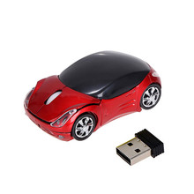 Car Shape Optical Wireless Gaming Mouse Sem Fio 2.4GHz Portable Mini USB Scroll Mice for Tablet Laptop Computer High Quality