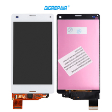 4.3 inch Black White For Sony Xperia Z3 mini Compact D5803 D5833 LCD Display Touch Screen Digitizer , free shipping+tracking
