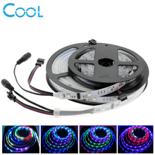 6803 Dream Magic Color 5050 Digital LED Strip DC12V 30LED/m IP67 Waterproof Intelligent LED Strip 5M(China)