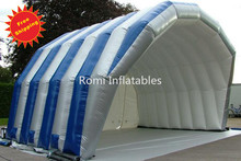 Free shipping small inflatable stage cover tent Inflatable advertising tent outdoor events inflatable tent(China)