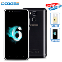 Doogee Y6 4G Mobile Phone 5.5 Inch HD MTK6750 Octa Core Android 6.0 2GB RAM 16GB ROM 13MP 3200mAh Fingerprint ID Smartphone