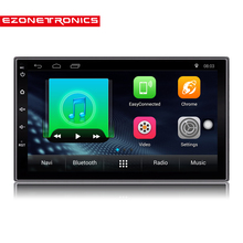 "2 Din Android 6.0 Car Radio Stereo 7""1024*600 Universal Car Player GPS Navigation Wifi Bluetooth USB Radio Audio Player(No DVD)(China)"