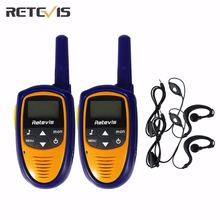 2 pcs Family Children Walkie Talkie Toys Retevis RT31 8/22CH 0.5W UHF LCD Display Amateur Portable Mini Kids Radio Transceiver