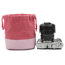 Micro single camera bag for Sony XT20 protective case pink