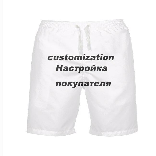 Customized Men Shorts 3D Print Own Design Men
