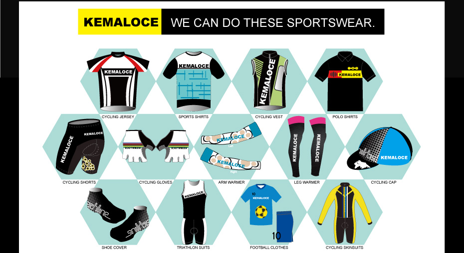 we can do these sportswear for you