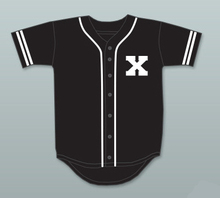 Embroidery Stitched Malcolm X White Baseball Jersey A Different World black movie Baseball Jersey(China)